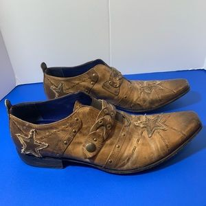 Mark Nason Rock Never Dies Boots Loafers